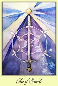 ace of swords card