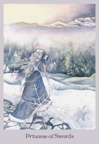 Princess of Swords - The Lovely Om Tarot