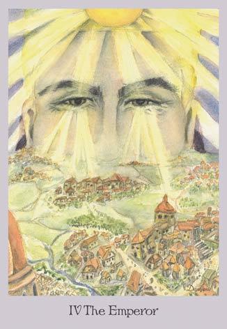 The Emperor - Lord Rama - The Lovely Om Tarot