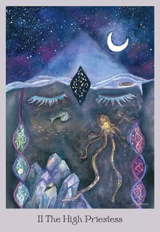 lovely om tarot the high priestess