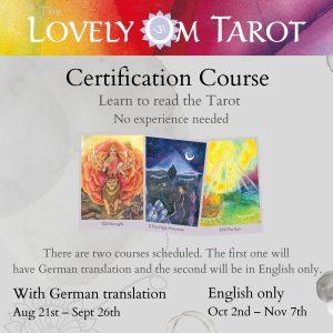 Lovely Om Tarot Certification Course